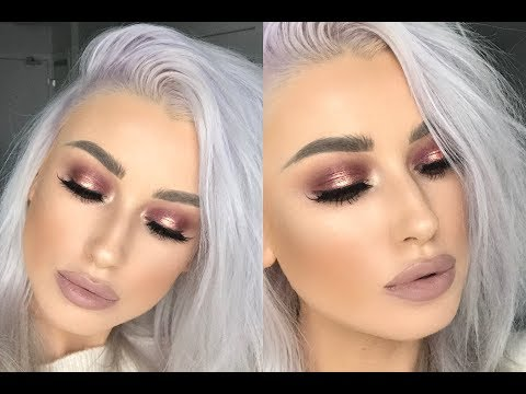 CRANBERRY SPOTLIGHT EYE MAKEUP TUTORIAL