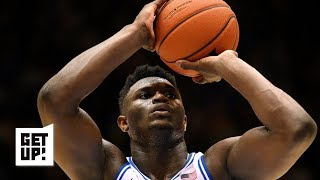 Jalen rose says one way to stop duke's zion williamson is keep him driving his right when he wants spin left ahead of the blue devils' sweet 16 matc...
