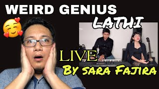 Download Mp3 Weird Genius - Lathi  ꦭꦛ  Live Version By Sara Fajira // Reaction Zisy Stories