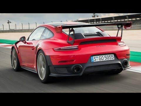 2018 Red Porsche 911 GT2 RS - Exhaust Sound, 700 hp, 750 Nm