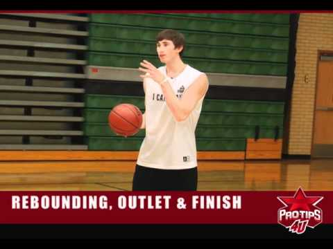 Basketball Drills: How to Rebound, make the Outlet Pass & Finish with Gordon Hayward