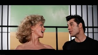 Olivia Newton John. John Travolta - GREASE / グリース ...