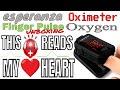 ESPERANZA FINGER PULSE OXIMETER OXYGEN UNBOXING (ECO001 Black)