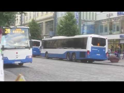 Buses in Tampere, Finland