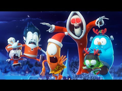 Funny Animated Cartoon 🎄 Spookiz 🎄 All I Want For Christmas 🎄스푸키즈 🎄 Cartoon For Children