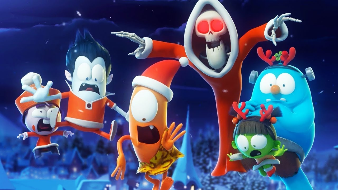 Funny Animated Cartoon  Spookiz  All I Want For Christmas    Cartoon For Children - YouTube