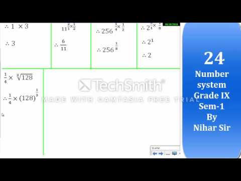 24- Number system Grade IX (Sem-1)