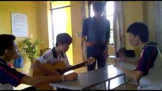 kết hợp rap, guitar, pentap ( Ngọn nến trước gió)