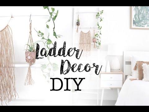 DIY Ladder Hack & Styling | Kmart Home Decor Hacks
