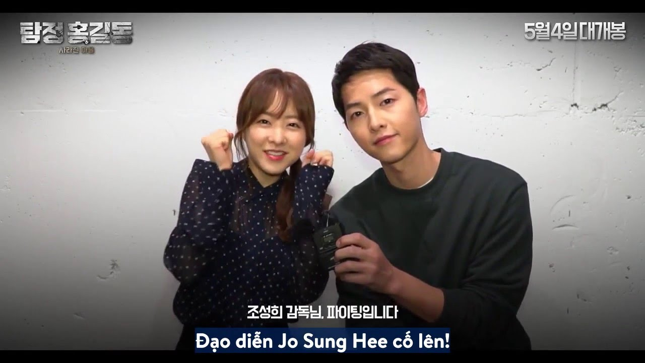 [Vietsub - Engsub] Park Bo Young And Song Joong Ki Sent A Cheering Message  To PD Jo Sung Hee