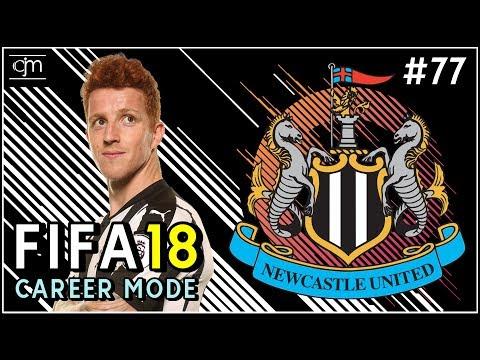 FIFA 18 Newcastle Career Mode: Tendangan LDR Aleksandar Mitrović #77