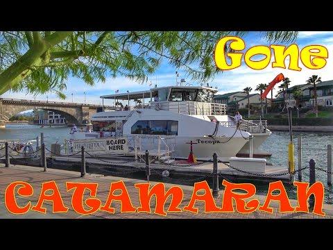 Lake Havasu Ferry Ride - Tecopa Catamaran - Full Time RV Travel Arizona