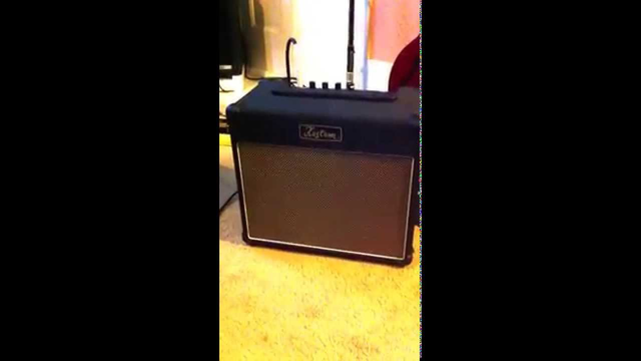Kustom 1x12 Cabinet First Demo Of The Kustom Ph Tube 12 Amp Youtube