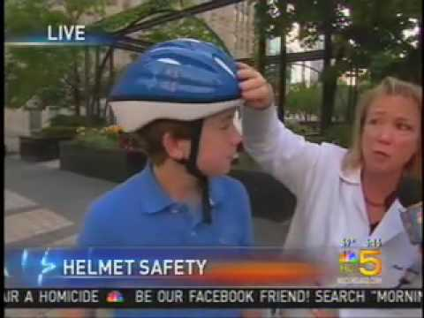 Gail Rosseau, MD - Discusses Helmet Safety on Channel 5 News