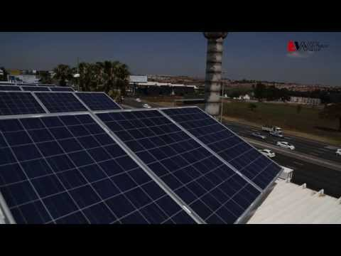 The Mustek solar roof project