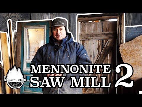 Ohsweken Project: Part 6 - Walter Brubacher Of Mennonite Saw Mill