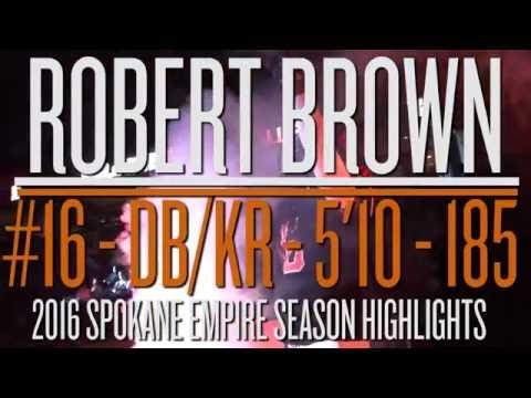Robert Brown 2016 Highlights (Raw)