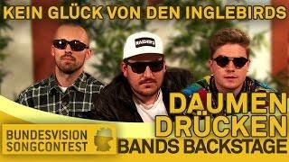 Wem drückt ihr die Daumen? - Bands Backstage - Bundesvision Song Contest