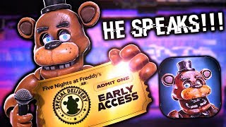 NEW TRAILER - FREDDY SPEAKS! HE FINALLY HAS A VOICE?! || FNaF AR: Special Delivery TRAILER 2