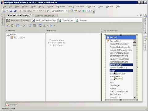 SSAS: Analysis Services