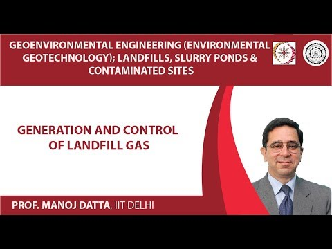 Generation and Control of Landfill Gas
