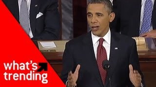 Obama State of the Union Rap (w/ Watsky!) Plus Top 5 YouTube Videos of 2/13/13