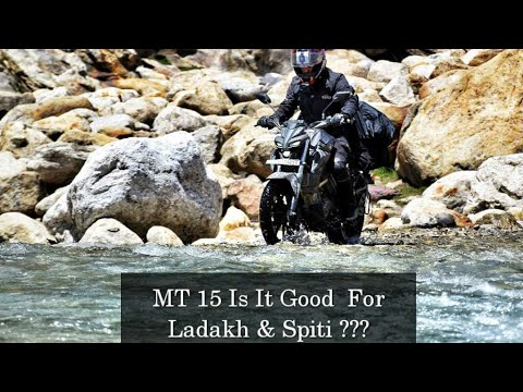 MT15 Good For LADAKH & SPITI? Yamaha MT15 OFFROAD Review