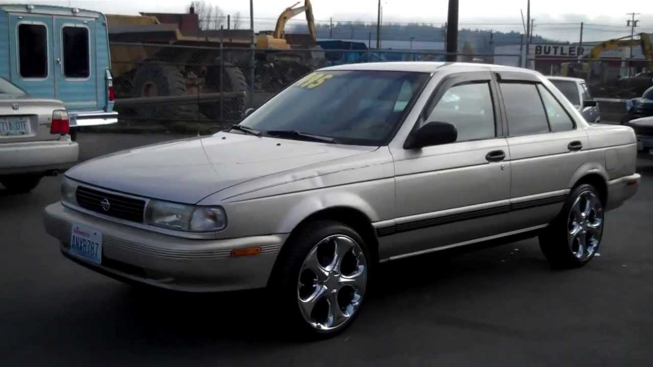 1993 NISSAN SENTRA SOLD!! - YouTube