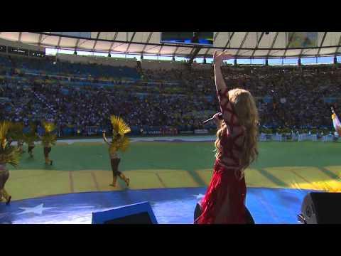 Shakira  La La La   at FIFA World Cup 2014 Closing Ceremony Brazil 2014