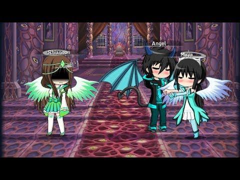 A Demon's and Angel's love.  Episode 2. (Rhigel) (GachaStudio)