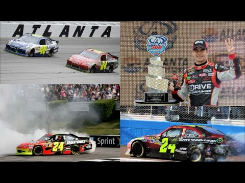 All 3 of Jeff Gordon's Wins in 2011 (Finishes) Jeff Gordon E