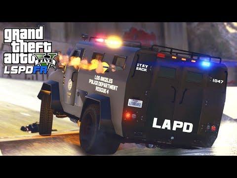 GTA 5 - LSPDFR #181 - Big Bad Bearcat (SWAT Patrol)