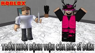 Roblox | TO ESCAPE THE MAD DOCTOR'S NAME HOSPITAL | Escape The Evil Hospital Obby | BTT Gaming
