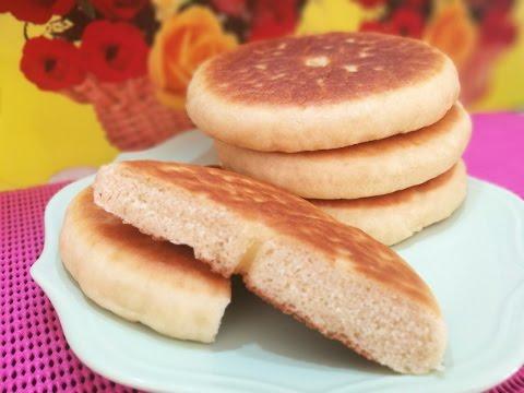 خبز المقلاة خفيف وساهل و بدون عجن🍞🍞pain sans pétrissage 🍞🍞khobz bedoun forn