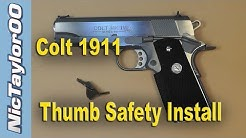 Colt 1911 Thumb Safety Install & Fitting (Upgrading to a Tactical Safety)