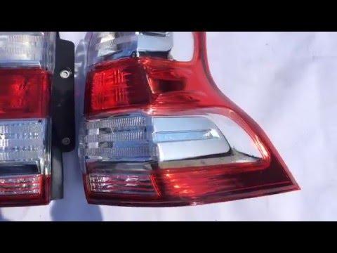 Видео Задний правый фонарь на
