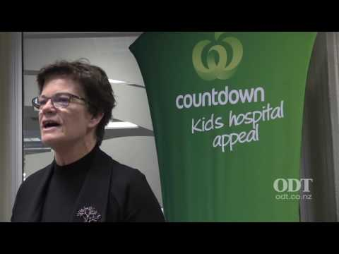 Launch of the Countdown Kids Hospital Appeal at  Dunedin Hospital,