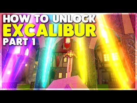 How To Unlock The EXCALIBUR In Dungeon Quest Part 1 (ROBLOX)