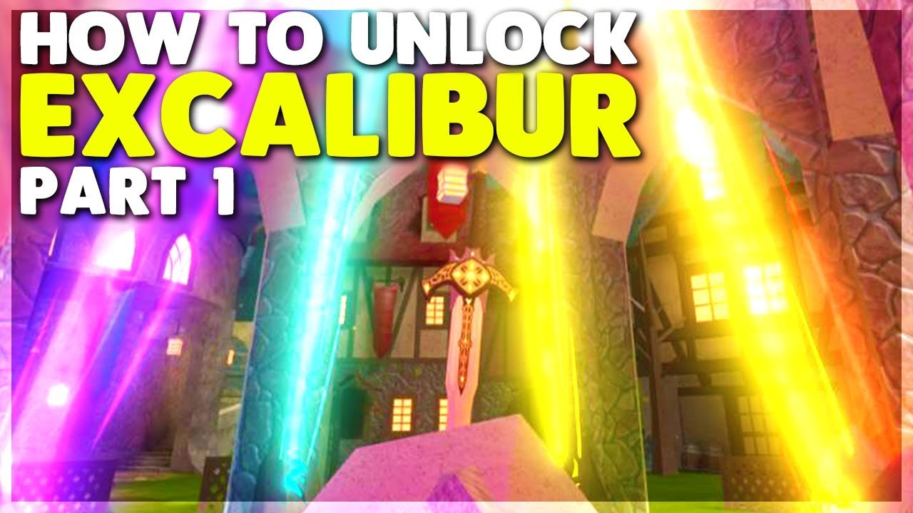Roblox Dungeon Quest Excalibur Purple Stone How To Unlock The Excalibur In Dungeon Quest Part 1 Roblox Youtube