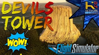 Visiting Devils Tower in FS!