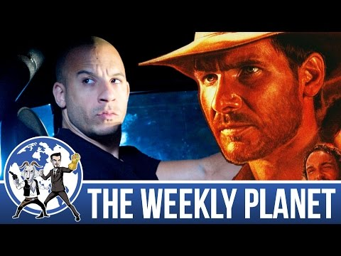 Superhero Showdown & Indiana Jones 5 - The Weekly Planet Pod