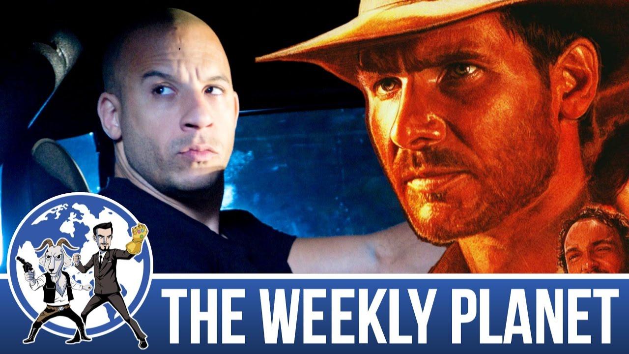 Superhero Showdown & Indiana Jones 5 – The Weekly Planet Podcast