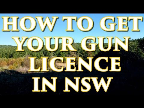 How To Get Your Gun Licence In NSW