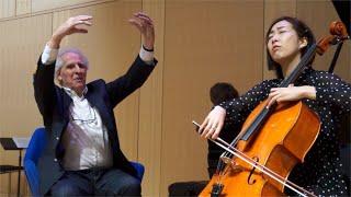 Schubert: Sonata for Arpeggione and Piano - 2nd movement (Benjamin Zander - Interpretation Class)