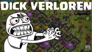 DICK VERLOREN! || CLASH OF CLANS || Let's Play Clash of Clans [Deutsch/German HD iOS Android PC]
