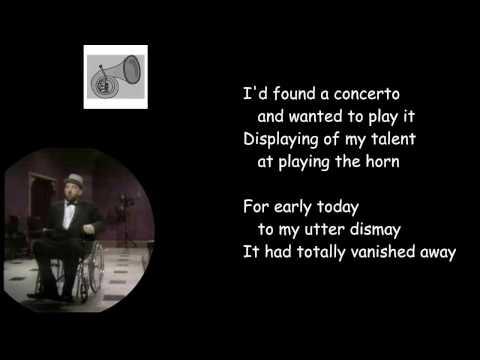 Flanders & Swan sing Mozart's Horn Concerto