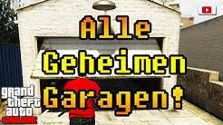 Grand Theft Auto 5 Online - Alle Geheimen Garagen! (PlayStation 4 Gameplay)