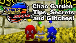 Chao Garden Tips, Secrets, And Glitches! (Sonic Adventure 2 Battle)
