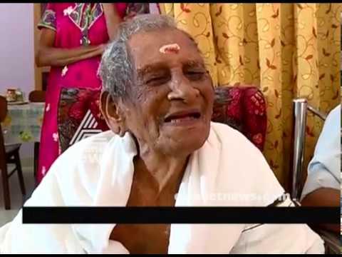 Raman Nair from Kottayam to celebrate his 110  birthday next month