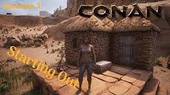 The Ideal Start! | Conan Exiles Single Player | Season 1 | #1